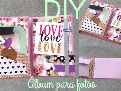 DIY ♡ Álbum para fotos ♡ Haz un bonito Álbum para regalar ♡