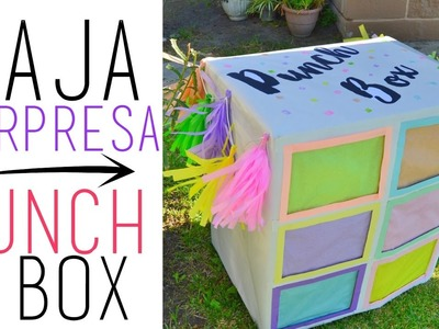 DIY CAJA DE REGALO - SORPRESA BOX