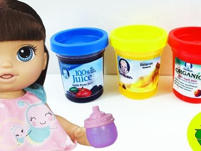 DIY | Como HacerJugo Falso. Bebidas para Tu Baby Alive - manualidadesconninos