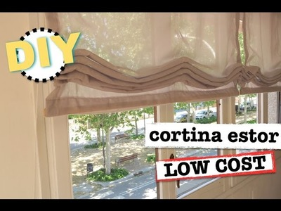 DIY CORTINAS ESTOR | LOW COST | SUPER FACIL Y ECONOMICO