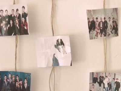DIY - KPOP Decora tu habitación de tu grupo favorito .IKON.BTS.EXO