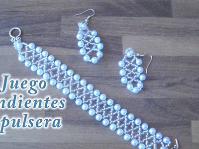 # DIY - Pendientes y pulsera a juego # DIY - Matching Earrings and Bracelet