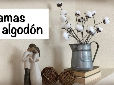 DIY - RAMAS DE ALGODON | ELYSSA'S CUBBY