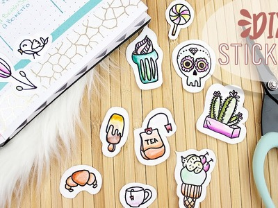 - DIY - Stickers, pegatinas hechas a mano WithLove ????
