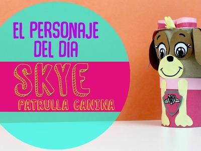 ¡Aprende a hacer manualidades de la patrulla canina! ¿Cómo hacer a Skye de la patrulla canina?
