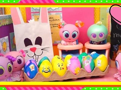 Juguetes Distroller - Pintan huevos de Pascua y manualidades con Chivatita y Susikin- Ksi Mami Andre