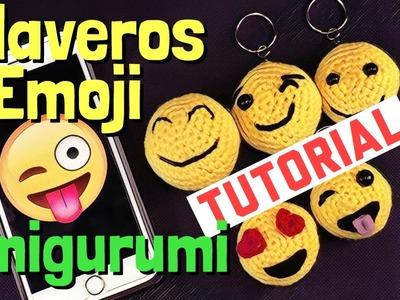 Llaveros Emoji - Tutorial Amigurumi