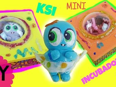 Mini Incubadoras para Ksi-Meritos - Manualidades DIY de juguetes y muñecas