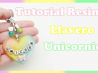 Tutorial de Resina - Pieza Arcoíris Unicornio - Colorear Resina con Pigmentos
