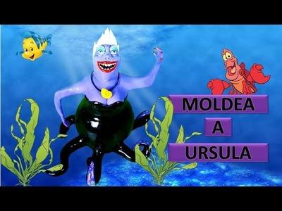 Tutorial de Ursula en porcelana. Gogoso Clay