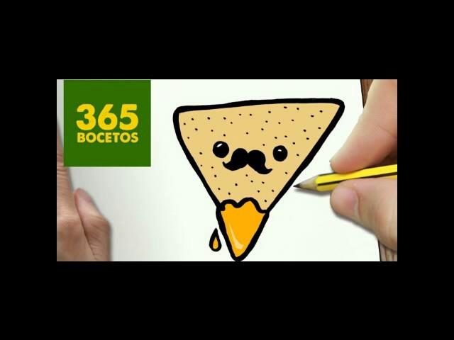 365 Bocetos-comida Kawaii