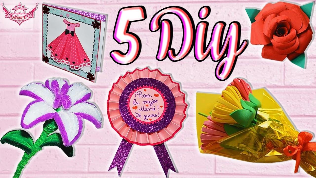 ♥ 5 ideas DIY para el Día de la Madre (Fácil y Rápido) ♥