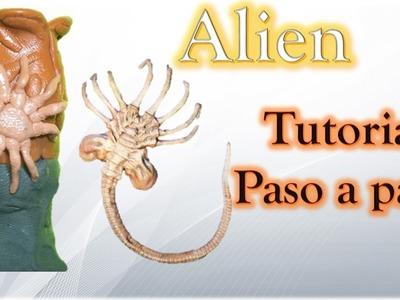 ALIEN COVENANT ESPECIAL ✅ Como hacer a Alien Arácnido de Plastilina tutorial