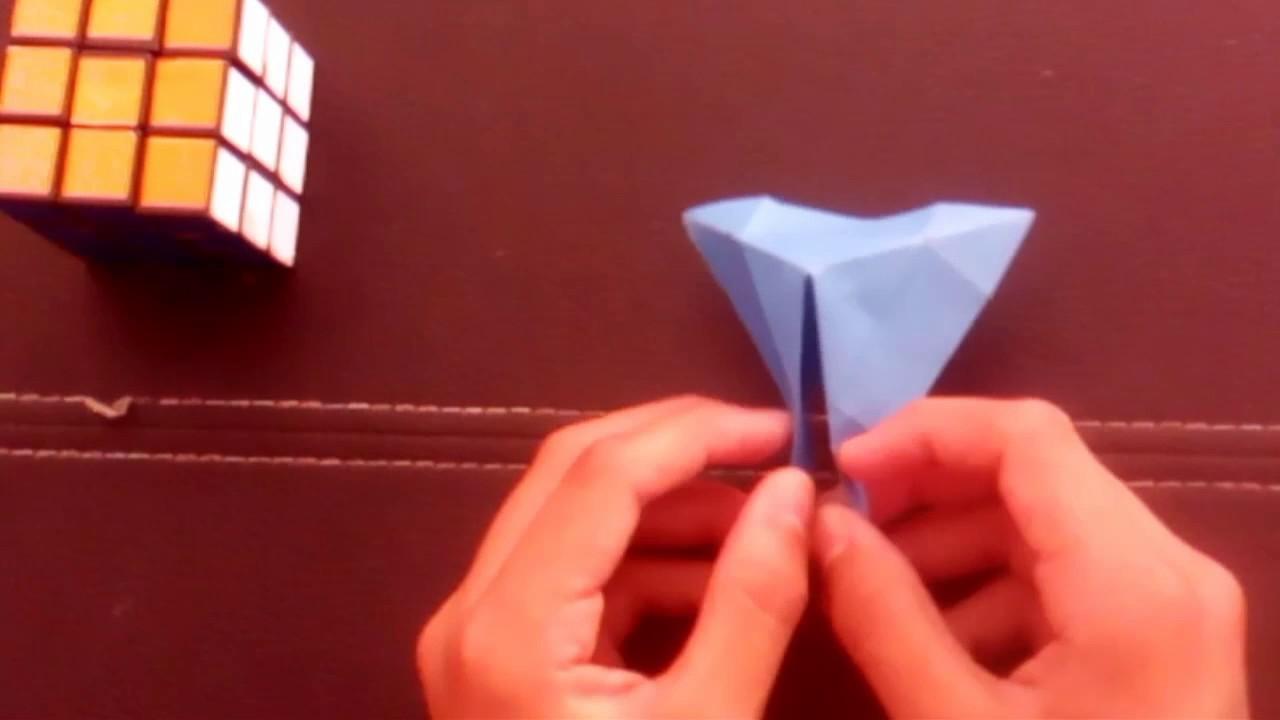 Artesanato Dos Estados Unidos ~ Origami, Artesanato Porta copos de origami, Artesanato Porta copos de origami, Shinyorigami Como