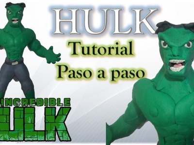 Como Hacer a Hulk de Plastilina ✅ How to Make a Plasticine Hulk TUTORIAL
