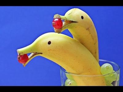 Como Hacer un Delfin con Frutas- HogarTv por Juan Gonzalo Angel