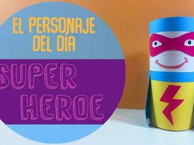 ¿como hacer un superheroe con materiales reciclados? + 5 curiosidades sobre los superheroes