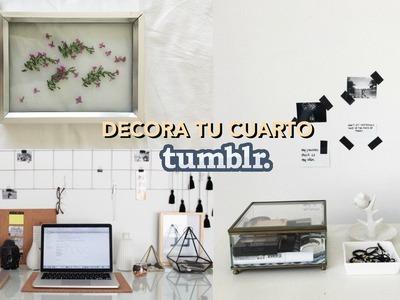 DECORA TU CUARTO Tumblr.Pinterst DIY.HACKS! (facil)| Luciana Wk