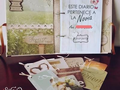 Diario de novia. Planificador de boda. Wedding planner