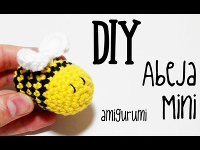 DIY Abeja mini amigurumi crochet.ganchillo (tutorial)