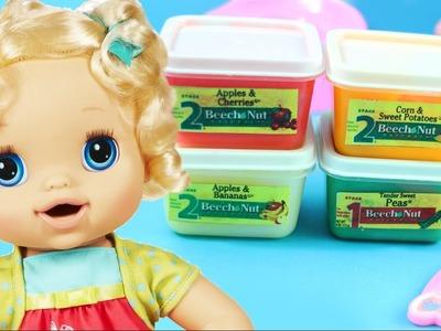 DIY | Como Hacer Comida Falsa. Papilla o Cereal para Tu Baby Alive