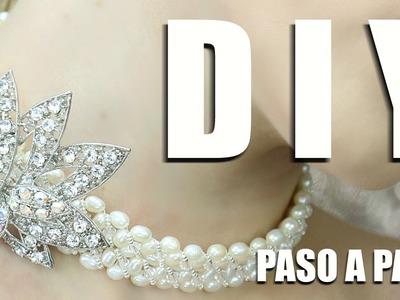 DIY GARGANTILLA DE PERLAS MASTER CLASS! DIY PEARL CHOKER