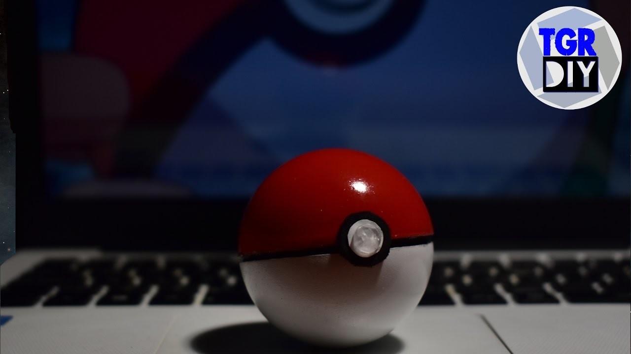 DIY pokebola que se abre y cierra. Pokémon pokeball