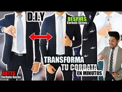 DIY: TRANSFORMA TU CORBATA EN MINUTOS | FÁCIL Y RÁPIDO