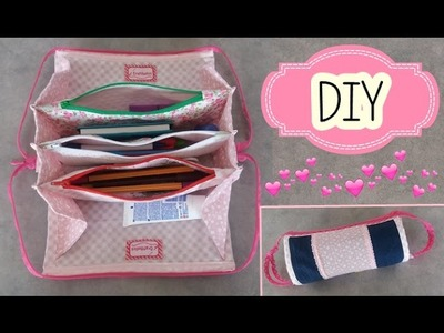 ESTUCHE O CARTUCHERA DIY   ❤