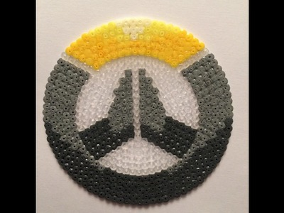 Logo Overwatch Hama Beads mini | Speed Art