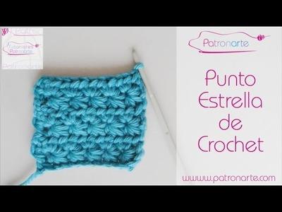Punto Estrella de Crochet