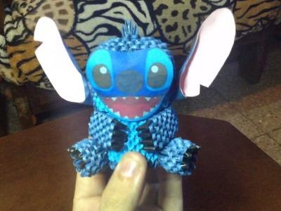Stitch en origami 3D.