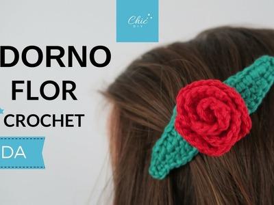 ADORNO FLOR A CROCHET | ZURDA | CHIC DIY