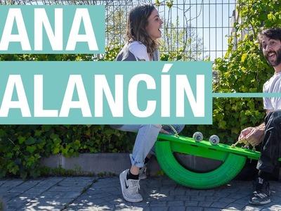 Balancín con un neumático · Handfie DIY