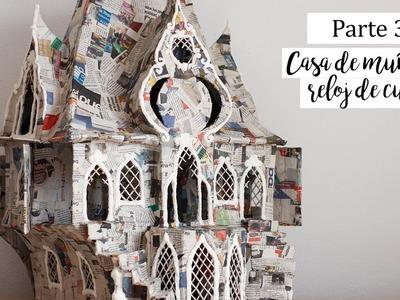 Casa muñecas - Parte 3 - Manualidades con cajas de carton