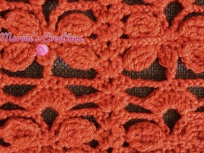 CROCHET: Puntada Libélula (Dragonfly stitch)