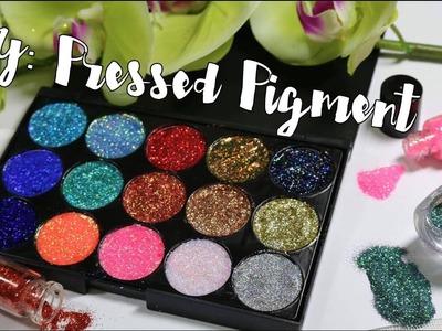 DIY: Como Hacer tu Paleta de Glitter - Pressed Glitter | Hilda Portillo