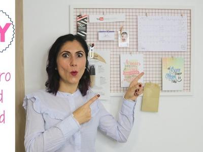 DIY: Cómo hacer un tablero MoodBoard - tablero de inspiración