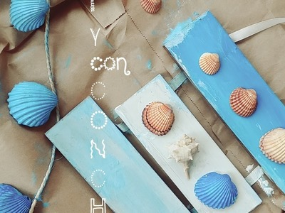 DIY CON CONCHITAS DE MAR