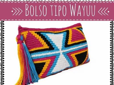 DIY Crochet: Bolso tipo Wayuu