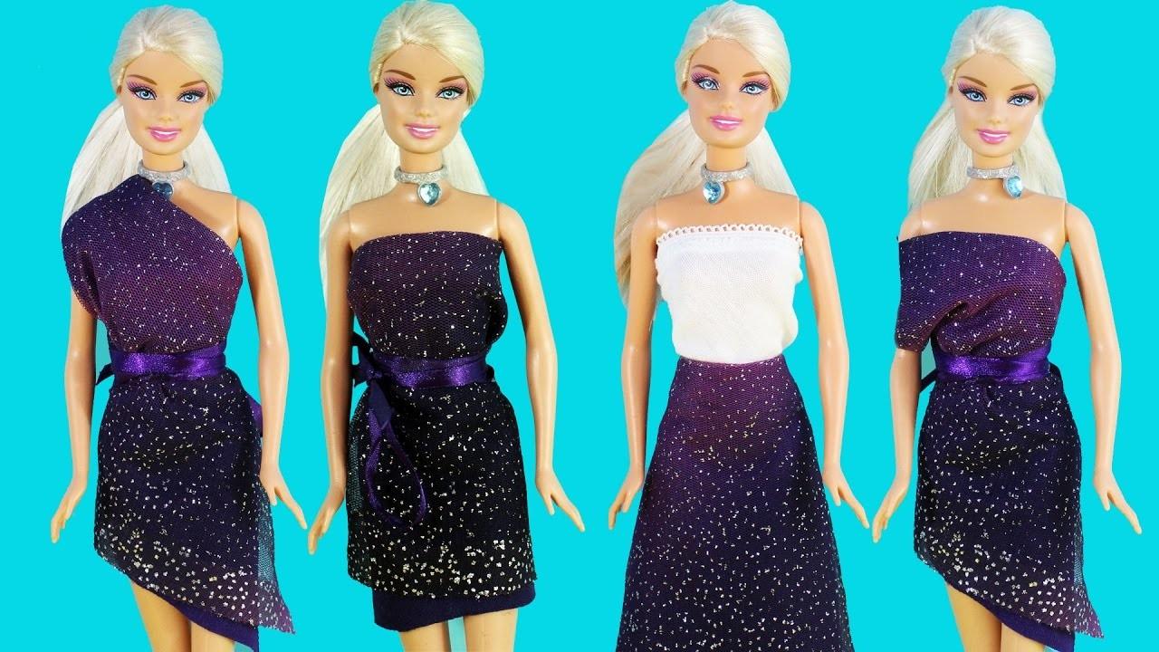 DIY: Falda Magica para muñecas Barbie sin coser - manualidadesconninos
