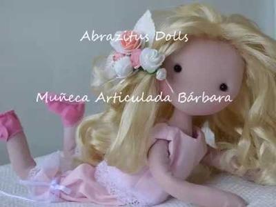 DIY-  Finalización de la muñeca Bárbara