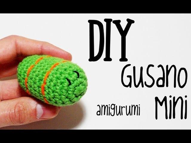 DIY Gusano Mini amigurumi crochet.ganchillo (tutorial), My ...