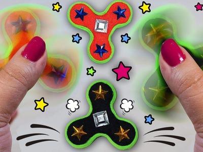 ♥ DIY: Haz tu propio FIDGET SPINNER CASERO Y REVERSIBLE ♥