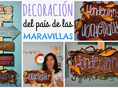DIY! Letrero Wonderland ❤ Mi Letrero de Direcciones | Ame Mayén