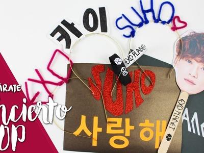 KPOP DIY:  ¡Prepárate para un concierto kpop! EXO'rDIUM |K-freak| EXO concert.