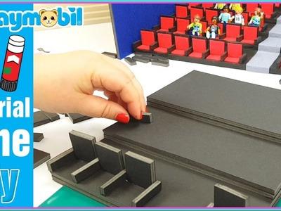 Playmobil | Tutorial, como hacer un cine para playmobil. DIY Playmobil en español.
