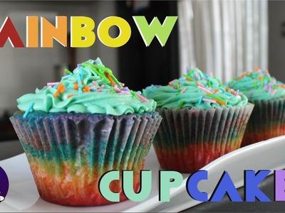 RAINBOW CUPCAKES | TU COCINA