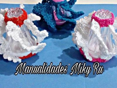 Salero tejido muy facil de hacer - Miky Ru