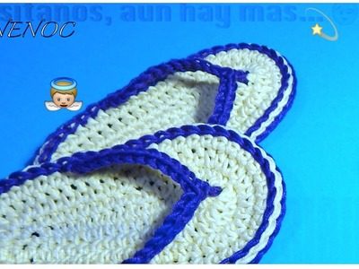 SANDALIAS TEJIDAS PARA BEBE GANCHILLO, CROCHET EASY BABY SANDALS DIY